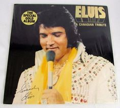 Elvis Presley - A Canadian Tribute Original 1978 RCA Hype Shrink SEALED LP Vinyl #RocknRoll