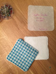 Les lingettes lavables - Site de cococoud ! Couture Main, Diy Couture, Diy And Crafts, Sewing, Hobby, Diy Baby, Creations, Motivation, Bags