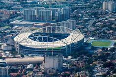 Bola rolando: futebol inicia os Jogos, com favoritos Brasil e EUA em campo #globoesporte