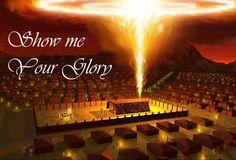 the manifestation of the shekinah glory of god - Google Search