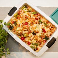 mat i form Chorizo, Vegetable Pizza, Lasagna, Quiche, Baking, Vegetables, Breakfast, Ethnic Recipes, Food