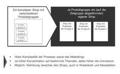 Aus einem Onlineshop mit sehr unterschiedlichen Produktkategorien einen Multistore aufbauen - usability-checks.de