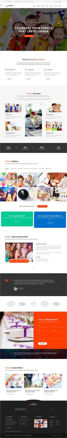 DVENTS is a Modern and Clean #HTML #Template for #Events Management #Companies and Agencies Websites with 2 homepage layouts download now➩ https://themeforest.net/item/dvents-events-html-template/18521300?ref=Datasata