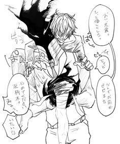 Boku no Hero Academia || Kurogiri, Shigaraki Tomura.