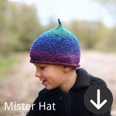 free Mister Hat knitting pattern and more, Woolly Wormed