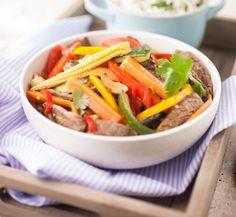 Adult – Thai beef stir fry