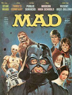 Mad magazine, January 1978 — Star Wars parody