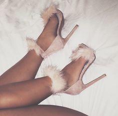 049e5e834a5 New Design Women Fashion Open Toe Suede Leather Fur Design High Heel  Sandals Ankle Fur Wrap Sandals Formal Dress Shoes