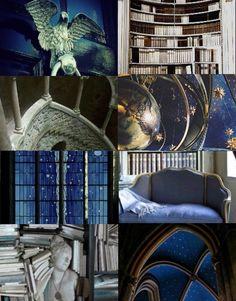 Harry Potter Aesthetics  ➤ Houses common rooms