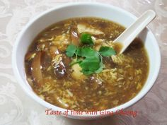 Kitchen Capers :: View topic - Spicy and Sour Sze Chuan Soup(recipe and pic)