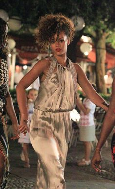 Rihanna spotted heading out with her girlfriends to check out the nightlife in Portofino, Italy. August 22, 2011.
