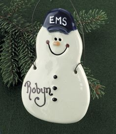 17 best EMT & Paramedic Christmas Ornaments images on Pinterest ...