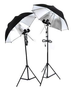 Studio Fluorescent Lighting Kit With Umbrellas For Etsy by BigToy, $149.00