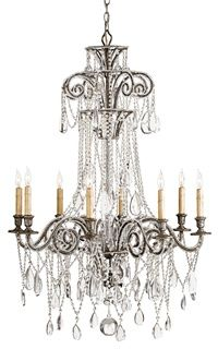 Eloise Chandelier Lighting | Currey & Company