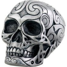 Shift Knobs - DC Tribal Skull Shift Knob - Cold Cast Resin - 2 ...