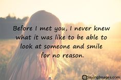 Love - Inspiring New Love Quotes for Him/Her  #Love, #NewLove http://sayingimages.com/new-love-quotes/