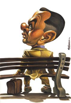 Forrest Gump #Caricature #FunnyFaces
