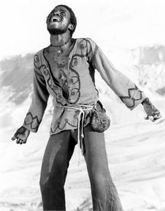 "Carl Anderson as Judas in the 1973 Norman Jewison film, ""Jesus Christ Superstar"" Jesus Christ Superstar 1973, Sly Stone, Hippie Movement, Anne Bancroft, Rage Against The Machine, Stevie Wonder, John Legend, Old Tv, Jimi Hendrix"