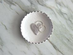 How to Make a Sweet DIY Ring Dish for Valentine's Day >> http://blog.diynetwork.com/maderemade/how-to/the-sweetest-diy-valentines-ring-dish/?soc=pinterest