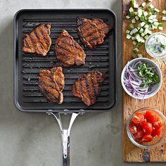 Williams-Sonoma Calphalon Elite Nonstick Square Grill Pan