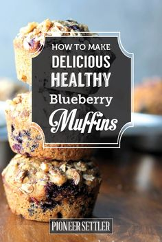 Want to make your breakfast muffin healthy? If you want to try a healthy blueberry muffin recipe today, you've found it! Delicious Healthy Blueberry Muffin Recipe image viaHealthy Blueberry Muffin Recipe I've always loved a good blueberry muffin. I enjoy it for breakfast and pretty much anytime of the day if available. I have to …