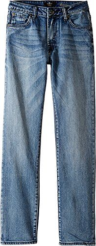 7 For All Mankind Kids Boys Slimmy Foolproof Jeans in Ivory Coast Big Kids Ivory Coast Jeans ** Want to know more, click on the image.Note:It is affiliate link to Amazon.