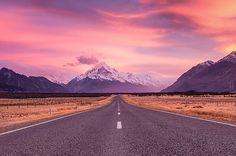 Bill ✔️ another view of that fantastic rRoad To Mount Cook, Mount Cook National Park, South Island, New Zealand. Scenery Photography, Landscape Photography, Travel Photography, Photography Tips, Travel Maps, Travel Usa, Travel Destinations, Las Vegas, Mount Cook