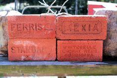 Brick Lot Sale VINTAGE BRICK COLLECTION STARTER GROUP 4 Bricks Various Stamps
