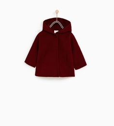 THREE QUARTER COAT WITH FURRY HOOD-NEW IN-BABY GIRL | 3 months - 4 years-KIDS | ZARA United States