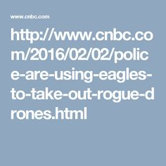 http://www.cnbc.com/2016/02/02/police-are-using-eagles-to-take-out-rogue-drones.html