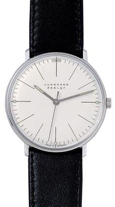 Max Bill Mechanical Men's Watch Model 3700 | NOVA68 Modern Design