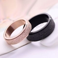 Find The Lowest Prices On Beautiful Simple Style Matting Titanium Steel His And Her Couple Rings, We'Re Proud To Show That High Quality Rings?& Necklaces & Bracelets Can Also Be?Simple Style Matting Titanium Steel His and Her Couple Rings Matching Promise Rings, Promise Rings For Couples, Couple Rings, Rose Gold Promise Ring, Matching Wedding Rings, Matching Rings, Matching Couples, Wedding Rings Simple, Diamond Engagement Rings