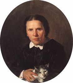 Nikolai Nevrev (1830-1904) Portrait  before 1904