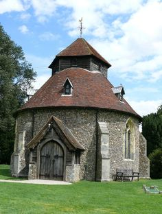 St John the Baptist Church, Little Maplestead, Essex.  Check out Great Mapplestead, Essex too