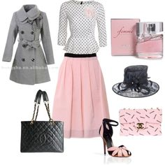 """""""Pretty in Pink"""" by dodrilltina on Polyvore"""