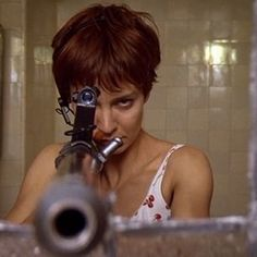 "Anne Parillaud in ""la Femme Nikita""1990 by luc Besson"