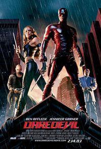 Daredevil is a 2003 superhero film based on the fictional Marvel Comics…