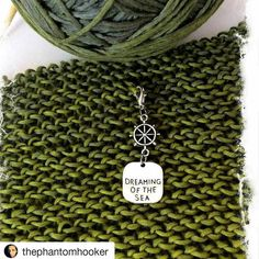 "Happy customer photo #Repost @thephantomhooker with @repostapp  Always... I will be back to see you in 28 days my dear ocean  in the meantime check out my sweet new stitch maker  picked it up from @bayviewfiberarts using it to make ""The Point Of Libra "" shawl. Yarn is Schoppel gradient. I love greens and blues  #knittingwool #knitting #knittersofinstagram #crochet #stitchmarkers #fiberlove #fiberaddict #yarn #yarnlove #yarnporn"