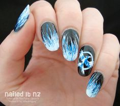 Nailed It NZ: Mockingjay Nail Art Tutorial   The Hunger Games
