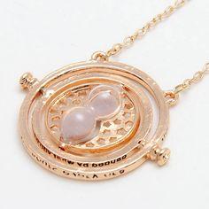 Harry Potter Zeit Turner Halskette Necklace ZEITUMKEHRER Ketter Sanduhr 5478 in Uhren & Schmuck, Modeschmuck, Halsketten & Anhänger | eBay