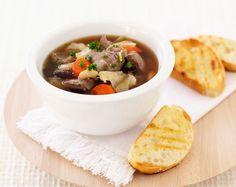 Lamb and bean soup