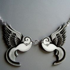 Tattoo necklace. Buy it on Etsy.