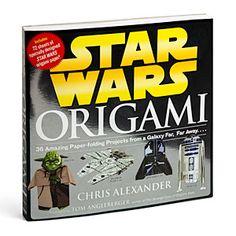 ThinkGeek :: Star Wars Origami~ LOVE IT!