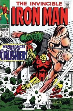 the Invincible Iron Man (vol.1) #6
