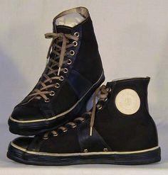 1920-30's Joe Lapchick Model Basketball Shoes. Most ...