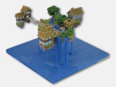 Figureprints, have your minecraft creations made into paper weights!