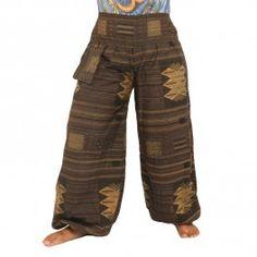 Pantalones Thai tradicionales
