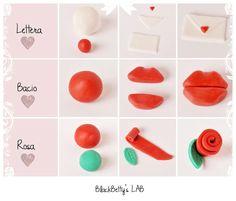 BlackBettysLab: Tutorial Valentines Day - Cupcakes topper