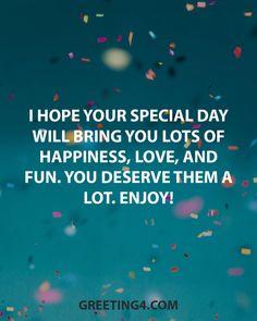 Happy Birthday Brother Messages, Happy Birthday Wishes Friendship, Happy Birthday Wishes For A Friend, Happy Birthday Status, Birthday Wish For Husband, Birthday Wishes For Boyfriend, Friend Birthday Quotes, Wishes For Friends, Daughter Birthday