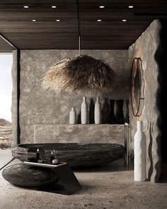 We just can't talk about luxury home design without mentioning the importance of a luxury bathroom. #luxurybathroom #luxurybathrooms #bathroomdesign #luxurydesign #luxuryinteriordesign #bathroomideas #bathroomtrends Home Design, Modern Design, Interior Architecture, Interior And Exterior, Deco Luminaire, Bathroom Design Luxury, Industrial Interiors, Wabi Sabi, Design Case